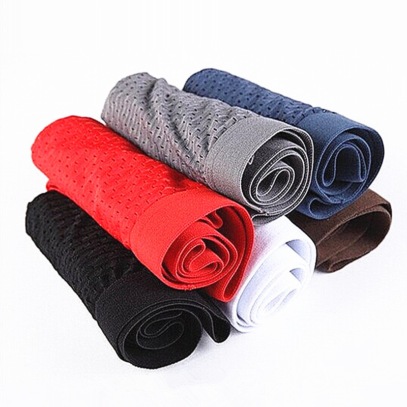 Wholesale 10 pcs boxer Health breathable mesh Silk bamboo fiber Men Underwear Cotton Bodysuit Cuecas boxer masculina calvin