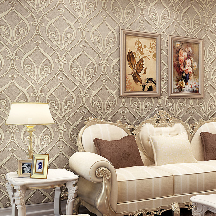 Luxury 2016 europe classic vine wallpaper noble 3d for Terengganu home wallpaper 2016
