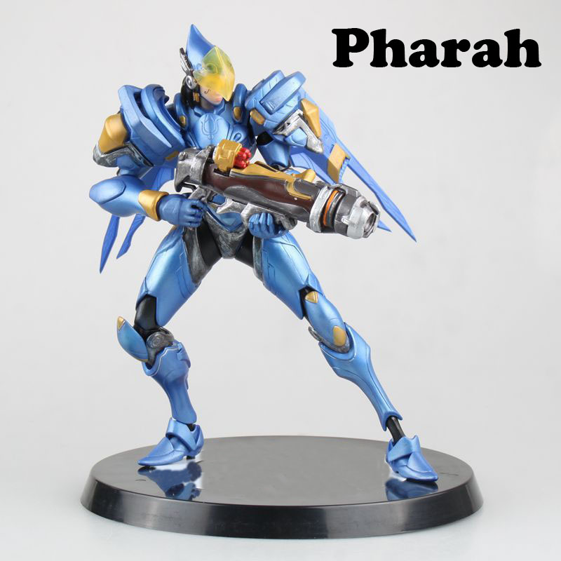 Free Shipping 10 Hot OW Game Pharah Boxed 24cm PVC Action Figure Collection Model Doll Toy Gift free shipping super big size 12 super mario with star action figure display collection model toy