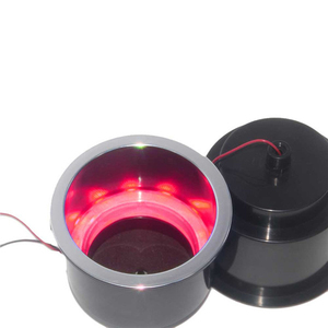 Image 2 - ABS Recessed Drinks Holder with RGB Light for Marine Boat Yacht RV Modified Vehicles