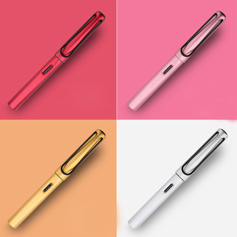 Free Shipping Luxury Al Star Metal Fountain Pen Office Executive Fast Writing Business Gift Pen Buy 2 Pens Send Gift Lahore
