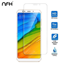 купить 2 Pieces Screen Protector For Xiaomi Redmi 5 Tempered Glass Protection HD Film For Xiaomi Redmi 5 Plus Protective Glass онлайн