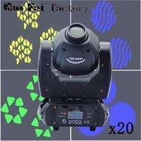 60W LED moving head light professional Spot light DMX 512 10/12 channels focus 3 facet prism Led Dj Disco