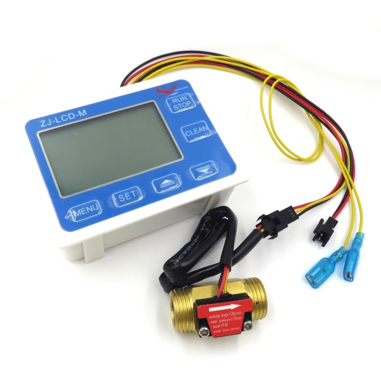 Digital display meter, liquid flow display, temperature display table intelligent water meter B1 taie thermostat fy800 temperature control table fy800 201000