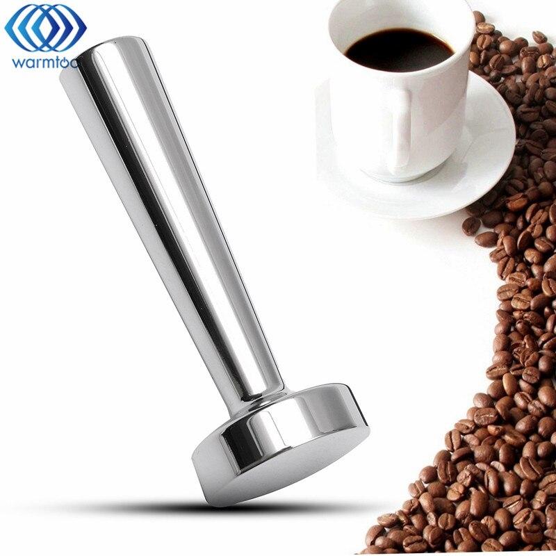 Stainless Steel Coffee Tamper Metal Nespresso Coffee Pressure Powder Espresso Tamper Flat Base Refillable