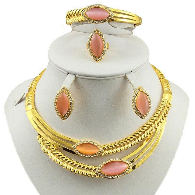 Hot Design Gold Jewelry Sets Bridal Jewelry Set African Big Jewelry