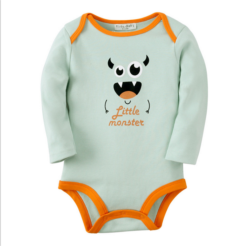 Baby Bodysuit One-pieces Infant Romper Overall Long Sleeve Jumpsuit Cotton Bodysuits 2017 Newborn Bebe Boy Clothes Christmas sr118 baby rompers 2016 spring newborn cotton pajamas clothes bebe long sleeve hooded romper infant overall boys girls jumpsuit
