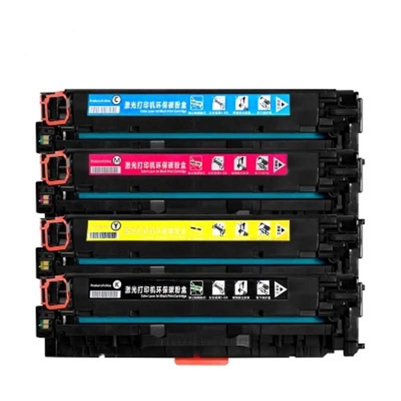 3 PK Compatible CF380A Black Toner Cartridge for HP LaserJet Pro MFP M476dn