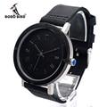 BOBO BIRD K05 Mens Watch Rome Digital Dial Face Genuine Leather Band Japan Quartz 2035 Wristwatch  As Gift Accept OEM Relogio