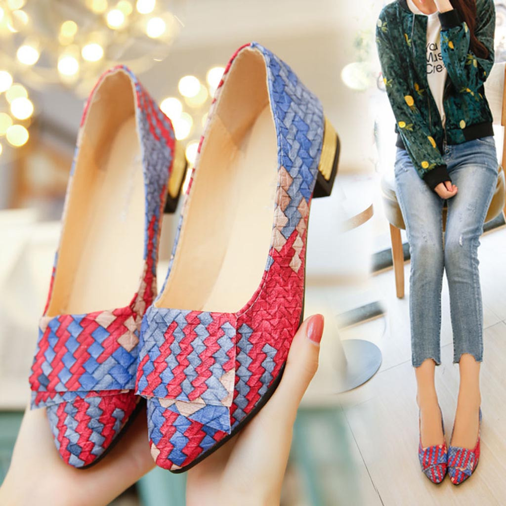 affordable price best choice authentic quality US $7.69 41% OFF|2019 Women's Pumps New Fashion Spring Summer Shoes Girl  Mixed Colors Casual Shoes Female Pretty Lady Party Work Walking Pump Hot-in  ...