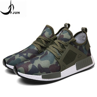 FJUN Camouflage Running shoes For Men Army Fans Mesh Breathable Soft Air Sole Sneakers Deodorant Insole Running Shoes RZ79