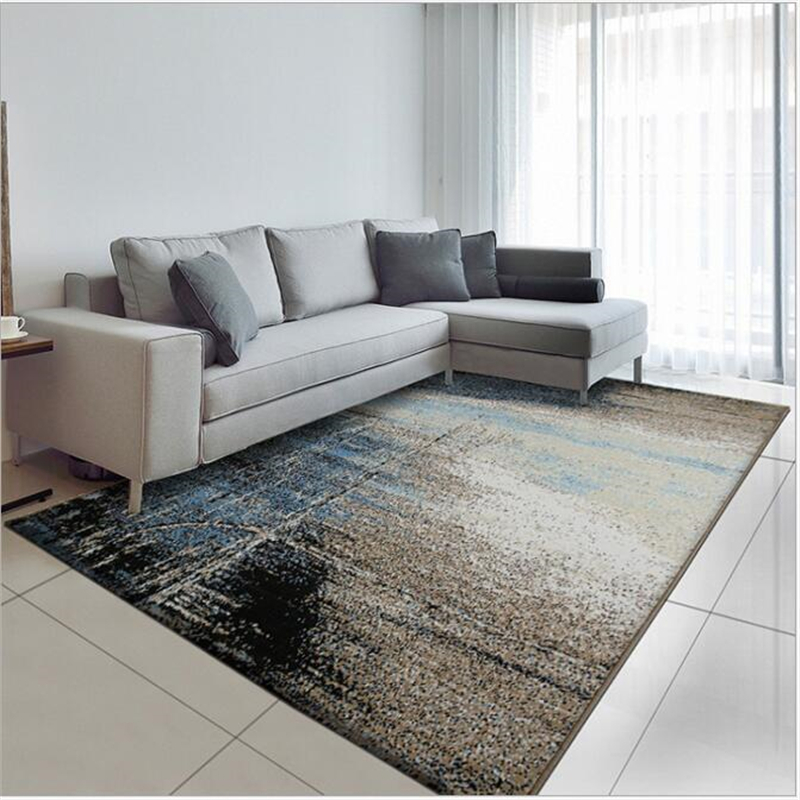 160X230cm New Abstract Nordic Style Polypropylene Delicate Soft Large Carpet For Living Room Bedroom Fashion Rug Home Floor Mat