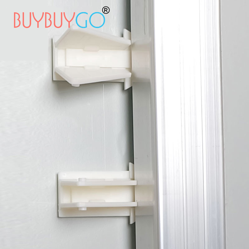 4Pcs ABS Child Baby Corner Guards Edge Protection Cabinet Lock Safety Locks