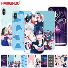 HAMEINUO yuri on ice history maker cell phone Cover case for iphone X 8 7 6 4 4s 5 5s SE 5c 6s plus(China)