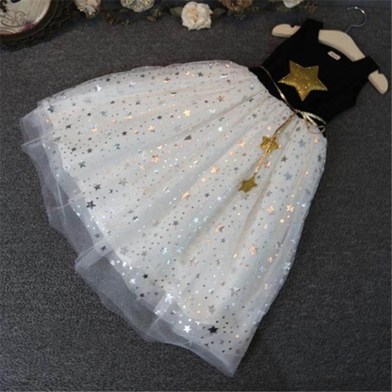 Nueva moda para niños, niñas y bebés, vestido de estrellas, - Ropa de ninos - foto 3