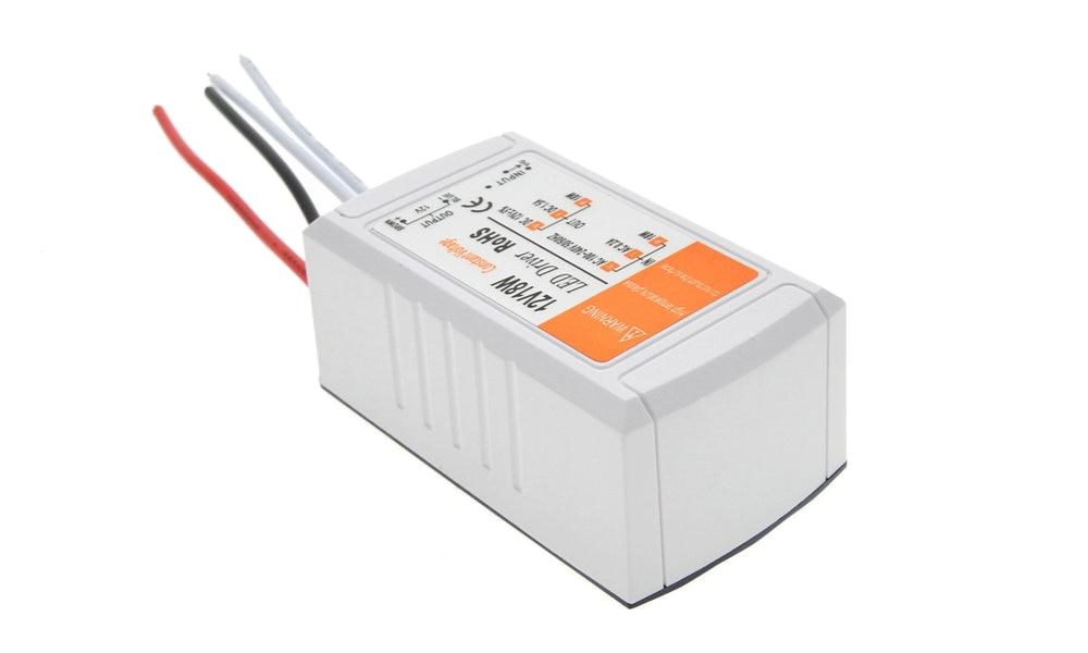 Блок питания 12 В, 1,5 А, 18 Вт, адаптер переменного/постоянного тока, трансформатор, переключатель для светодиодной ленты, потолочный светильни...