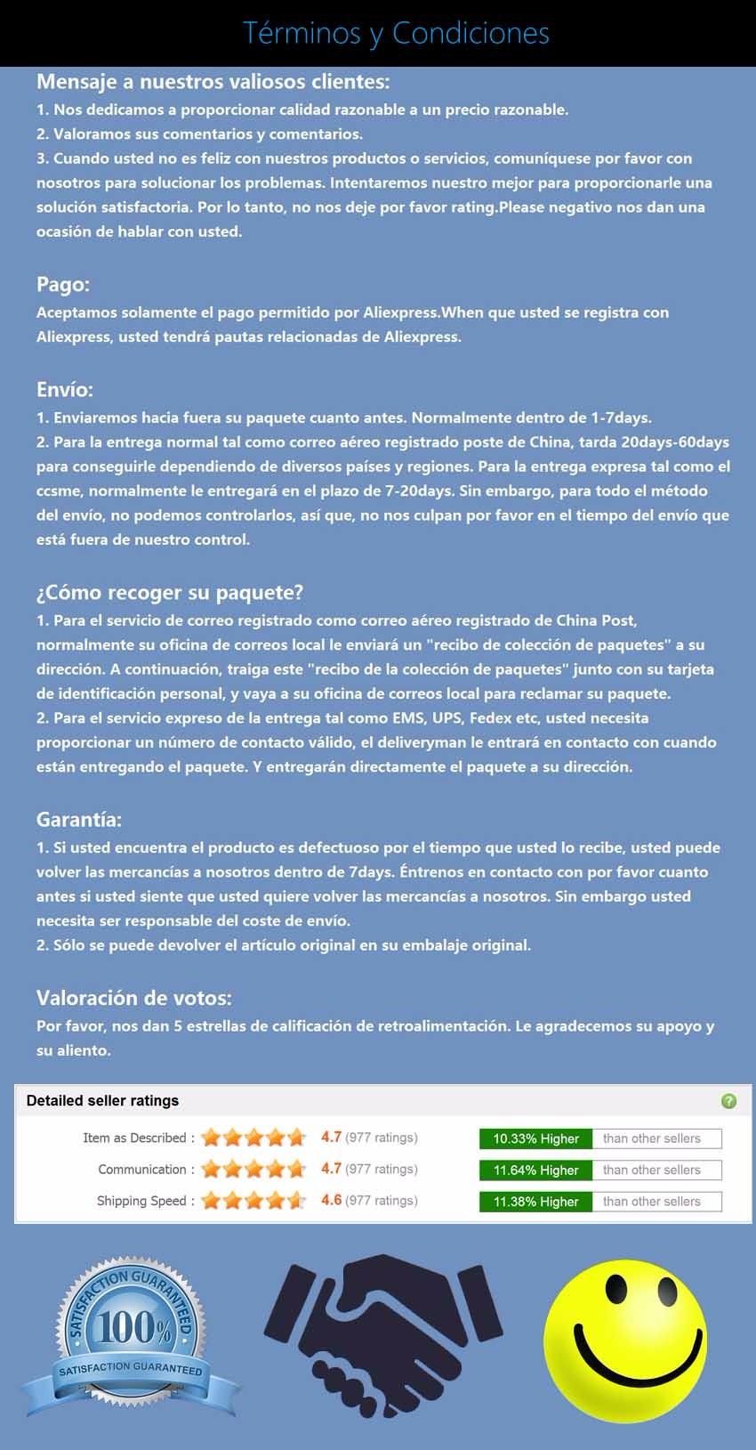 spanish terms