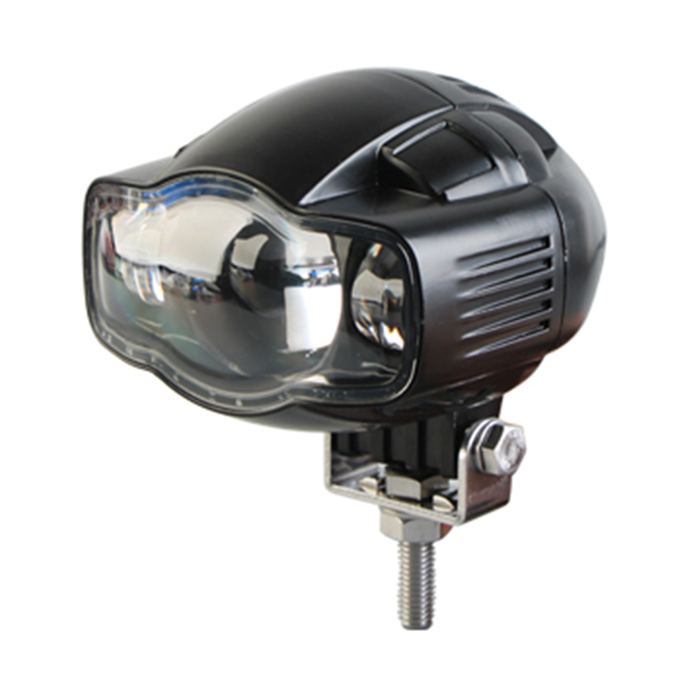 Universal 20W Motorcycle LED Headlight 2000LM Motorbike Driving Spotlight with USB Charger Moto Fog Spot Head Light Lamp dy6020 20w car spotlight headlight