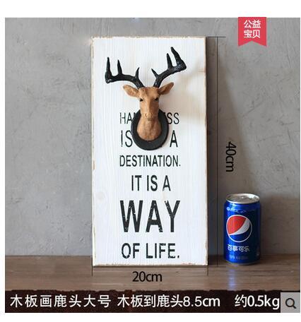 GONGOUYANG stickers muraux pour salon mur Dec affiche impression animaux artisanat statues Vintage arrière-plan mur sculpture maison meurt