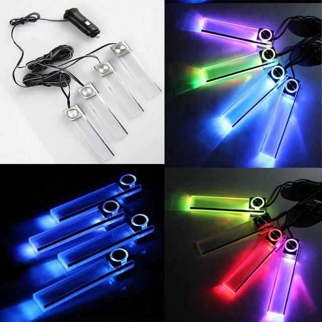 Aliexpress.com: comprar 4 en 1 coche lámpara decorativa de la ...