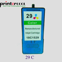Einkshop 18C1529 Color Ink Cartridge for Lexmark 29 For X2500 X2530 X2510 X5075 X5490 X5495 Z845 Z132printer