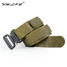 VULPO New Style Military Tactical Belt Nylon Molle outdoor sport waist  for Hunting Camping Hiking