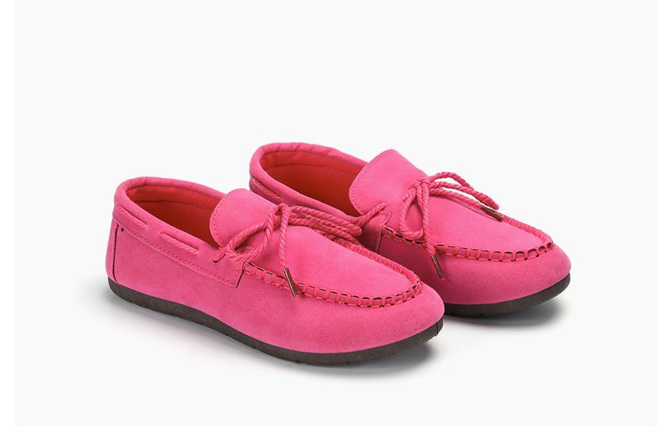 Moccasin womens four colors autumn soft brand top quality fashion suede casual loafers #WX810401 87
