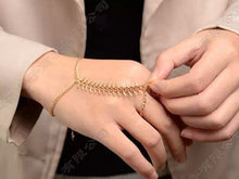 Hot Sell Brand Retro Fishbone Chain Bracelet Punk Bracelets Jewelry For Women Wholesale(China)