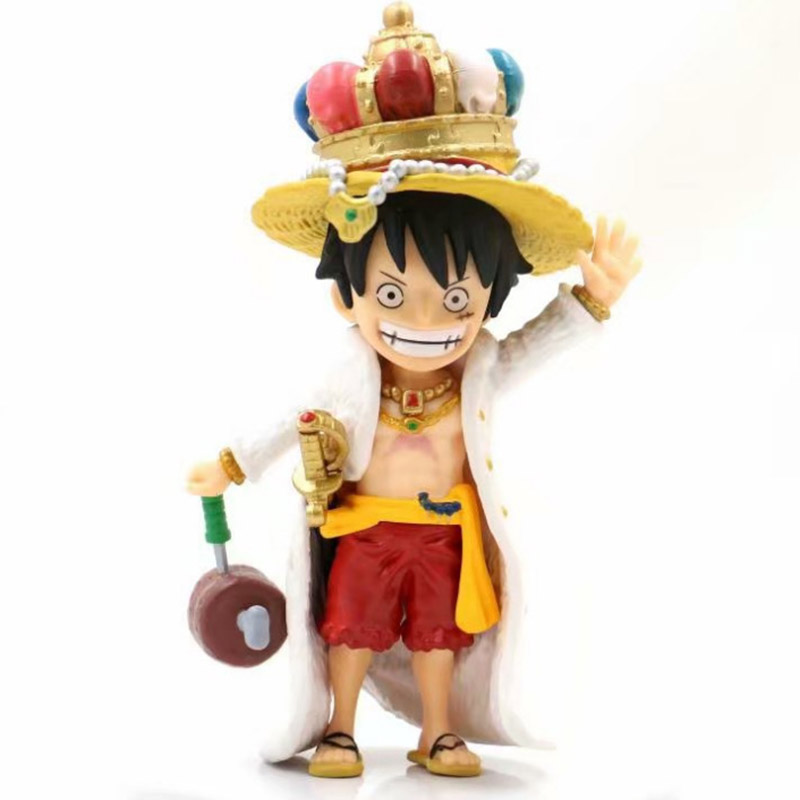 Analytical One Piece Luffy Action Figure 1/8 Scale Painted Figure King Crown Ver Toys & Hobbies Monkey D Luffy Pvc Figure Toy Brinquedos Anime 18cm Moderate Price