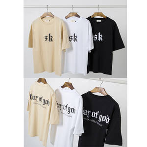 quality design 3f5fa 8771b FOG T-Shirt Men tshirts Hip Hop Clothes Black White Short