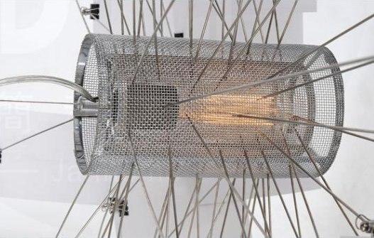 Suspension Pendente Lampe Suspension Moderne en attente de papier Suspension luminaire Note Lampe Luminaires lumières Lustre Lampe à main - 4