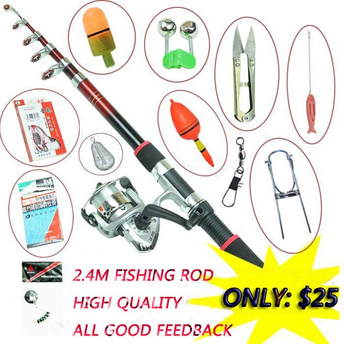 Aliexpress.com : Buy 12 Accessories Fishing tackle fishing Rod ...