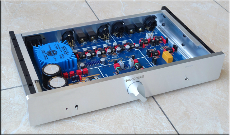 TIANCOOLKEI Reference Copy MBL6010D Preamplifier  RCA/XLR Output Real Good sound 110/220V
