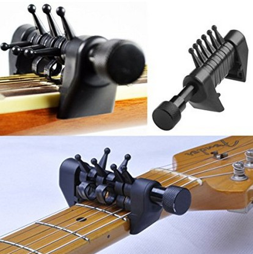Multifunction 6 Chord Capo Open Tuning Spider Chords WA-20 Acoustic Quick Change Clamp Drop Shipping