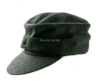 WWII GERMAN WH OFFICER M44 PANZER WOOL FIELD CAP IN SIZES 35776