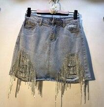Summer Skirt Fashion Drilled