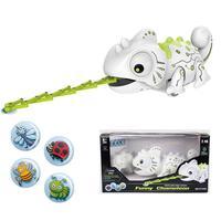 Remote Control Chameleon Pet Intelligent Toy Robot for Children Birthday Gift Kids Toys