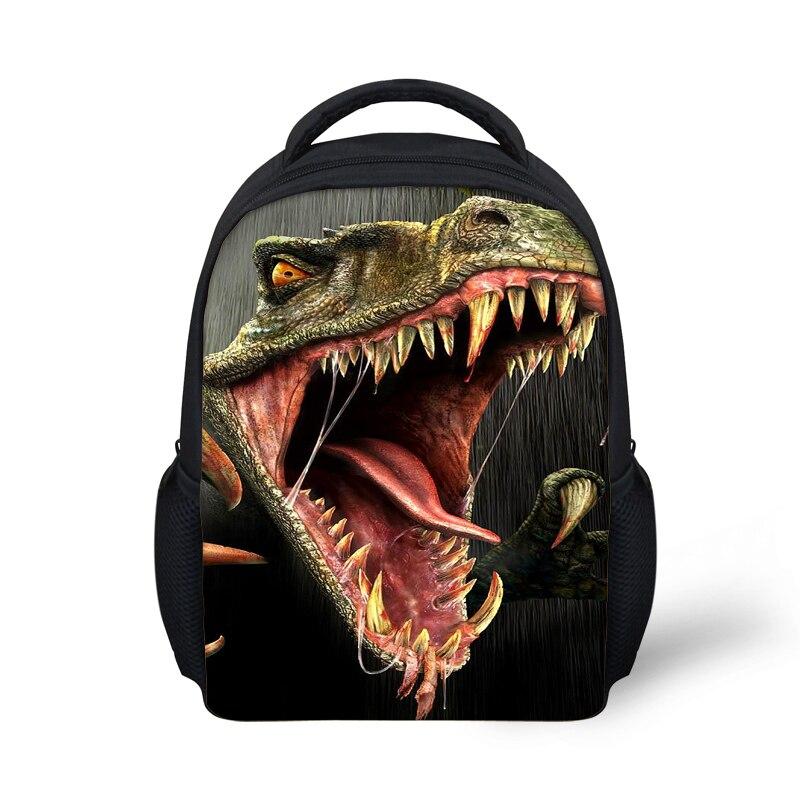 Fashion Small Children School Bags Backpacks,3D Dinosaur Back pack for Baby Boys,Girls Mini Schoolbag Mochila for Kids free