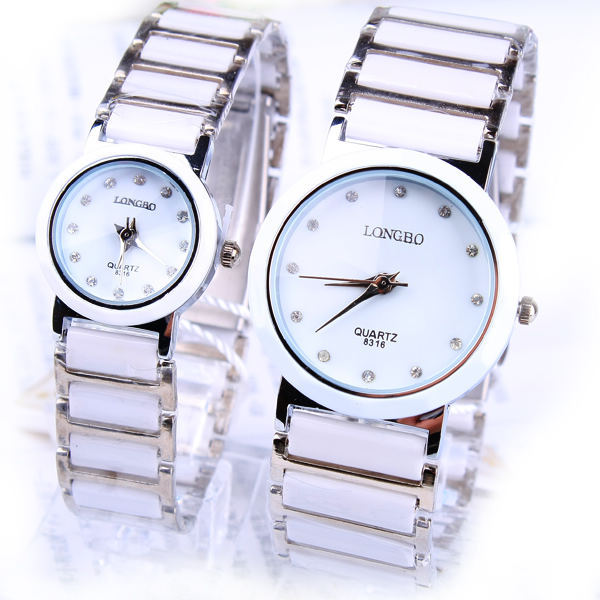 2016 White Watches Women Water Resistant Luxury Brand Ceramic Strap High Hardnes