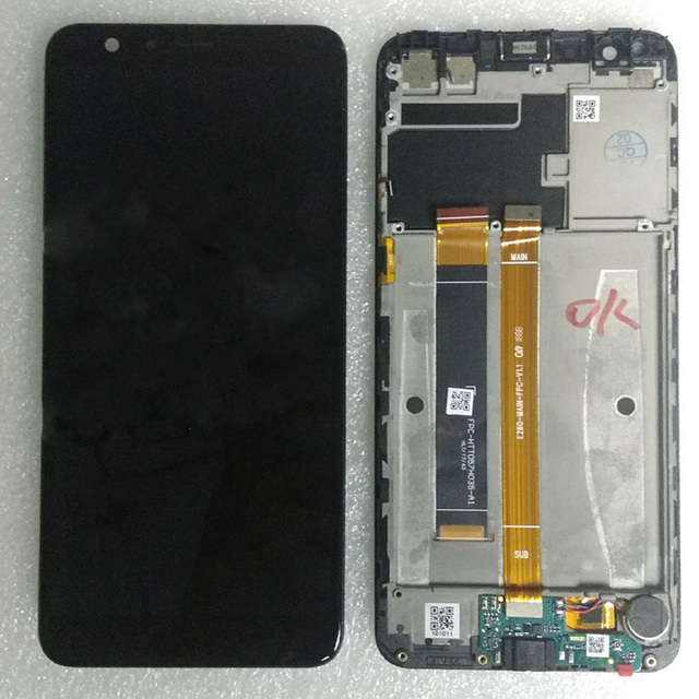 Black For Fpc Htt057h035 A1 Lcd Display Digitizer Touch Screen Glass