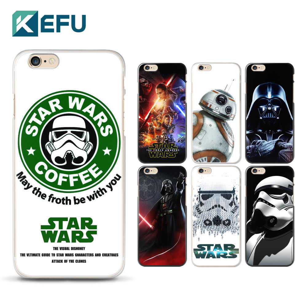 For coque iPhone 5S case 4 4S 5 5S 5C 6 6S 7 Plus Star war PC ...