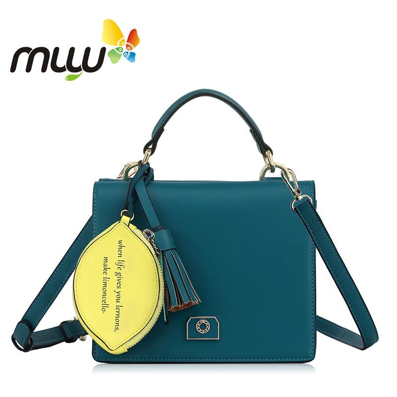 Muyu 2018 Hard PU Fashion Tassels Design Hasp Women Messenger Bag with Adjustable Shoulder Strap Ladies Casual Handbag 701398 fashion cover and tassels design women s shoulder bag