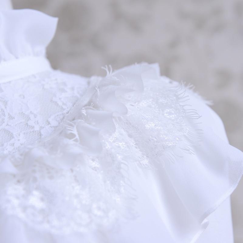 En Chemise De D'origine Manches À Mode Longues Blanc Gros 2017 Femmes Automne Blouse Nouvelle 7HUHBqZ