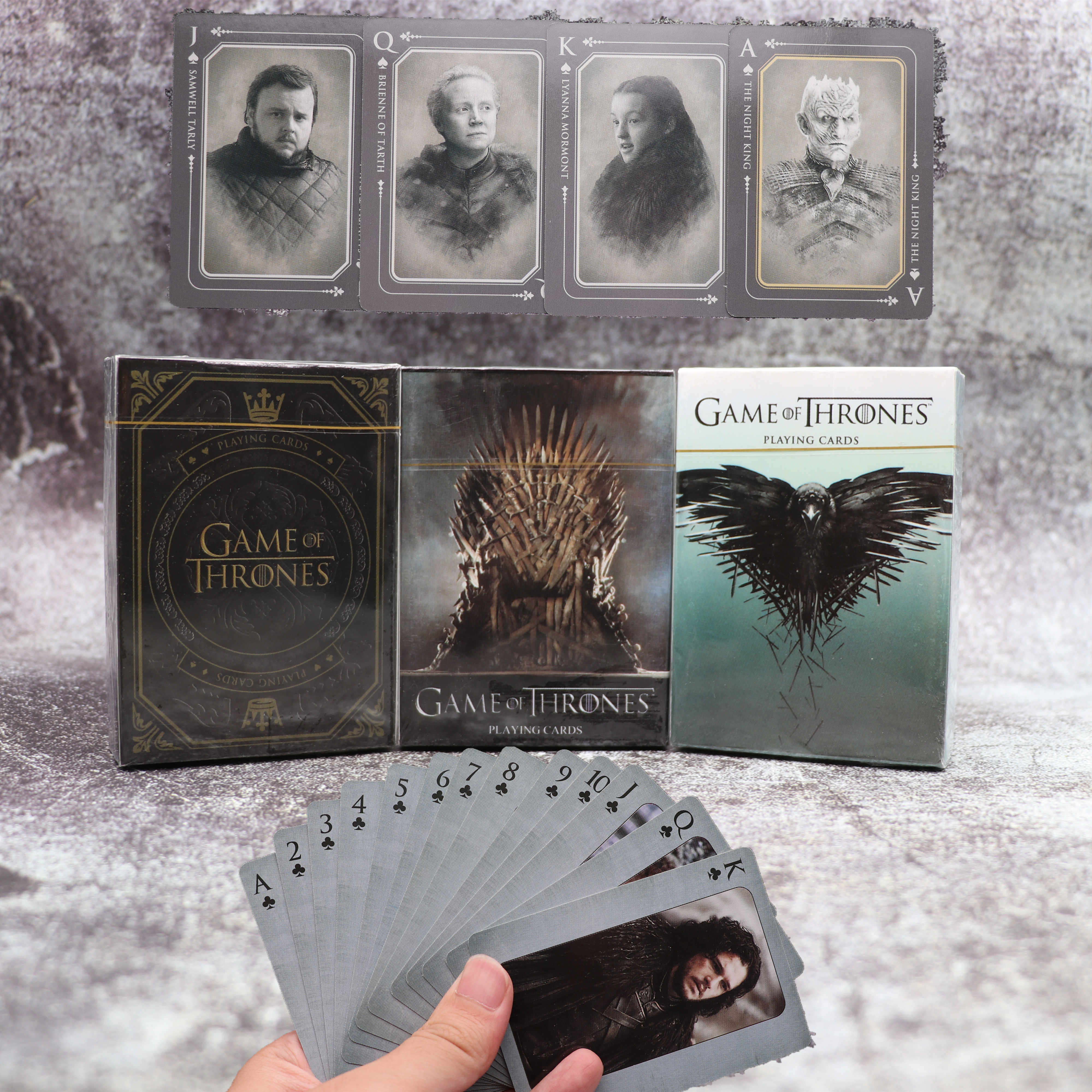 Movie Game Of Thrones Cosplay Props Stark Jon Sneeuw Daenerys Targaryen Dany Dragon Moeder Speelkaarten Bordspel Verzamelen Gift