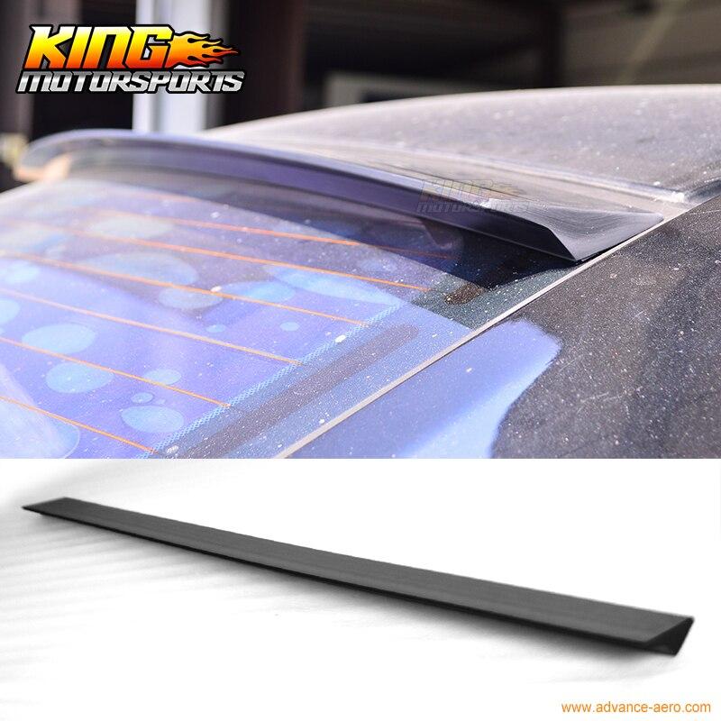 For 2005-2010 Chevrolet Cobalt 4Dr VRS Style Roof Spoiler Unpainted Black - PUF hiper vrs
