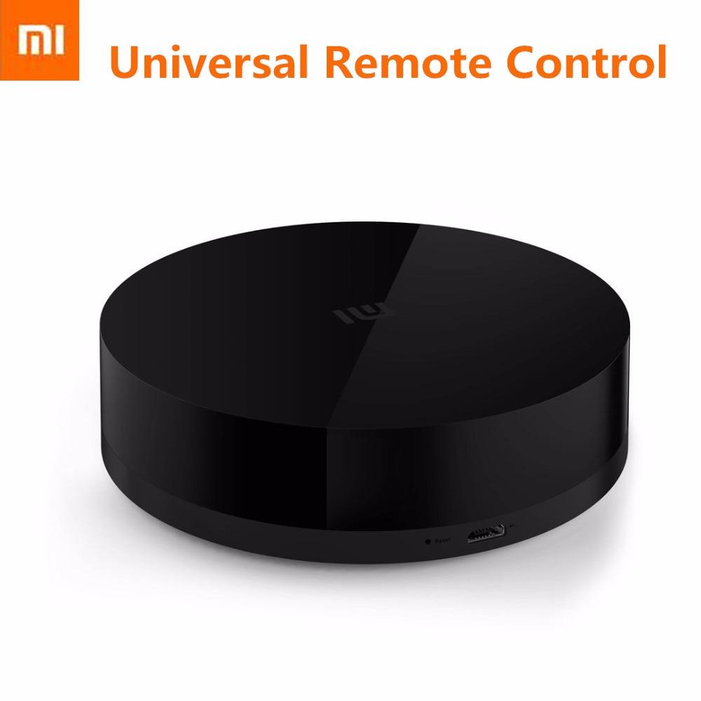 imágenes para 100% original xiaomi mi universal inteligente controlador remoto inteligente wifi + interruptor ir 360 grados inteligente domótica