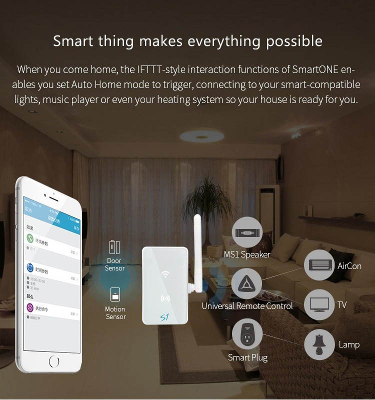 Broadlink S1C smartone Kit,home Automation system Security Alarm System-9