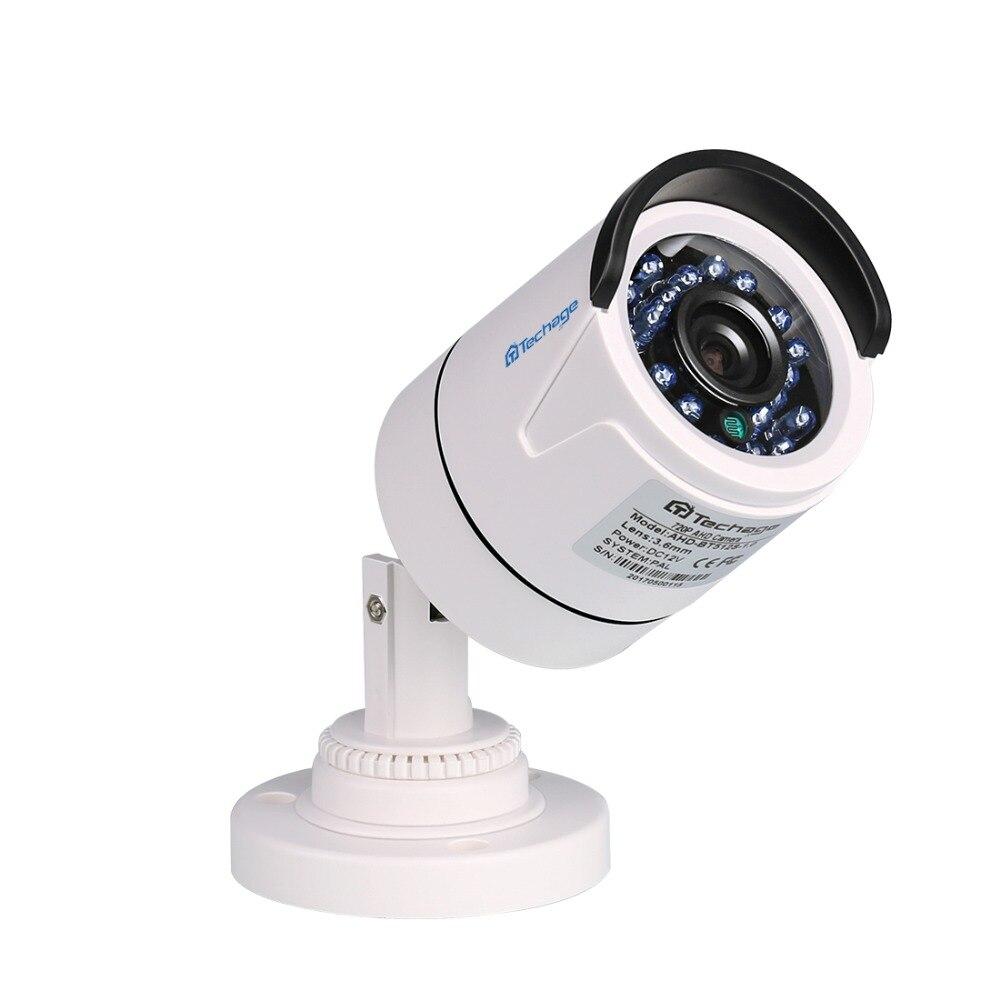 Techage 720P AHD Camera Analog Outdoor IR Night Vision 1200TVL Home Security CCTV Camera IR Cut Filter Plastic CCTV Surveillance