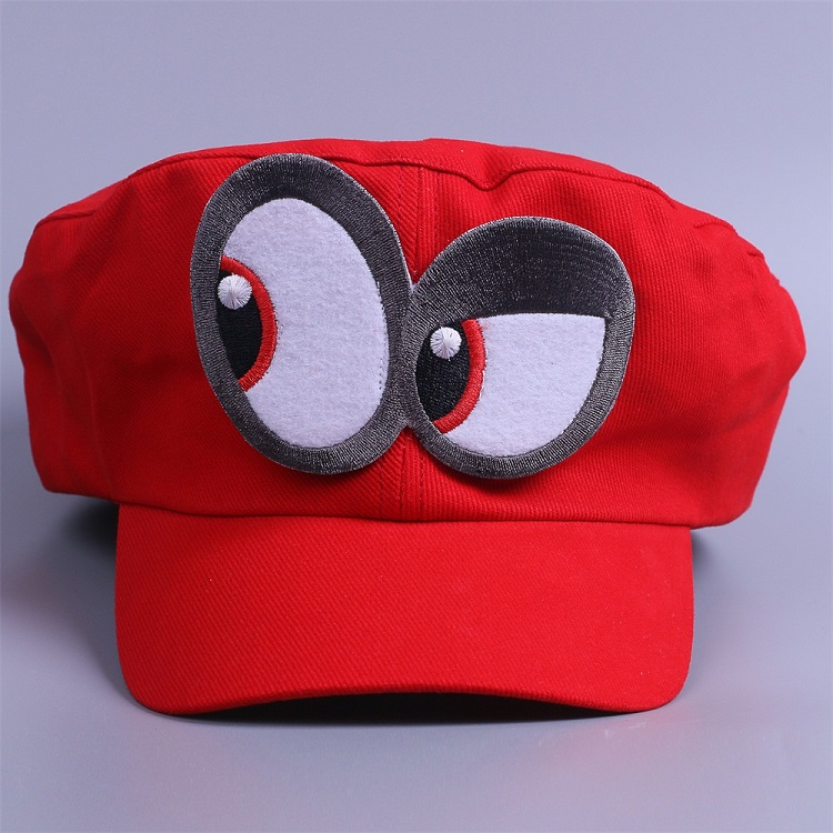 Game Super Mario Odyssey Cap Cosplay Red Mario Hat Adult Kids Halloween Prop New