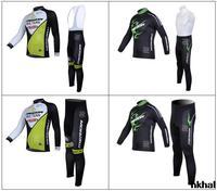 2014 Merida inverno térmica velo ciclismo Jersey manga comprida e ciclismo ( bbb ) Z123 GTZ005